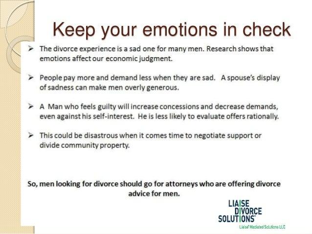 advice for men after divorce