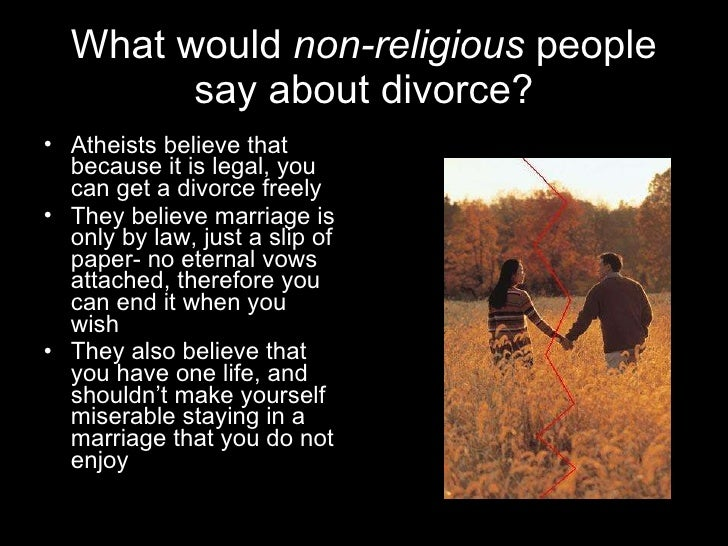 Why do christians divorce