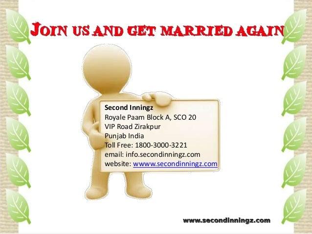 Matrimonial sites for divorcees in india