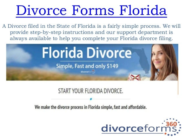 how to file a simple divorce in florida