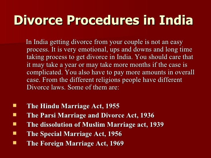 divorce laws in india Get free divorce advice from the best divorce lawyers in india with lawrato's free legal advice service all you have to do is post your divorce related query to get it answered by expert divorce lawyer.