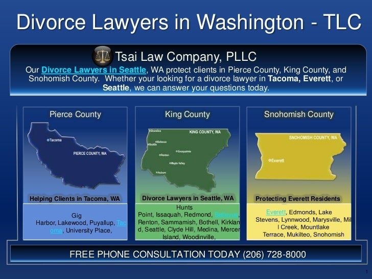 Divorce Lawyers in Washington - TLC<br />1<br />Tsai Law Company, PLLC<br />Our Divorce Lawyers in Seattle, WA protect cli...
