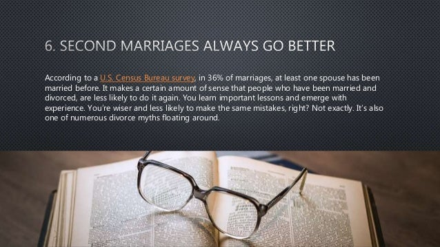 Number one myth about marriage debunked