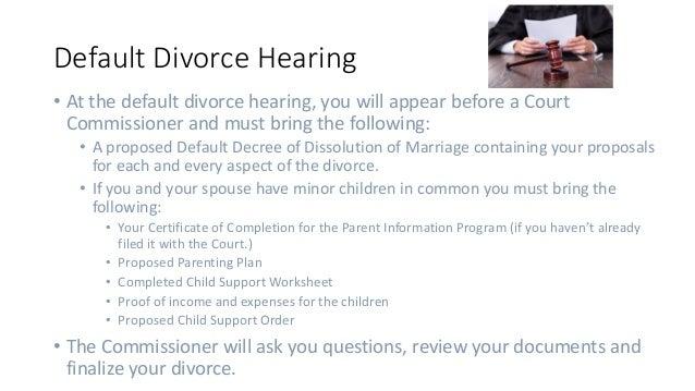 Arizona Divorce process – Child Support Worksheet Az