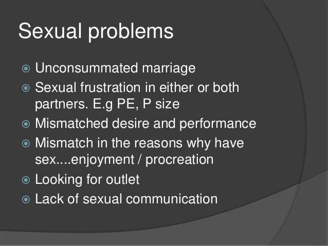 Divorce for lack of sex