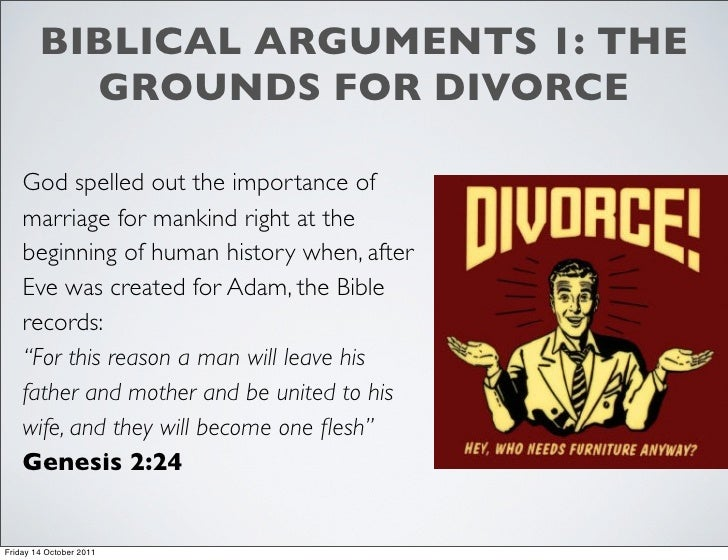 divorce in the bible is it allowed