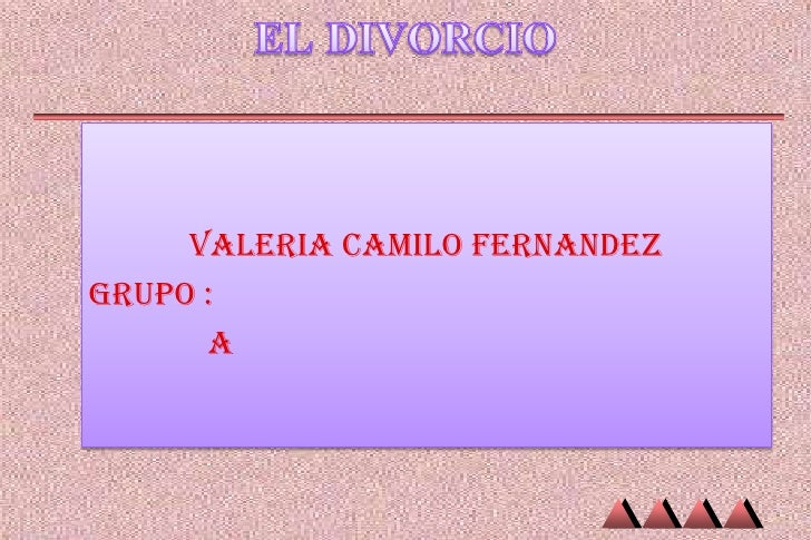 VALERIA CAMILO FERNANDEZGRUPO :      A