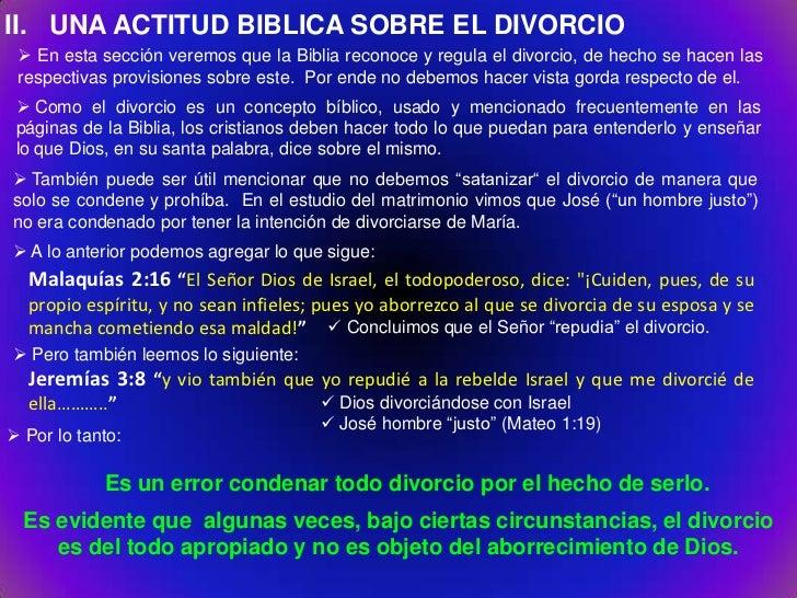 Biblia Matrimonio Y Divorcio : Divorcio