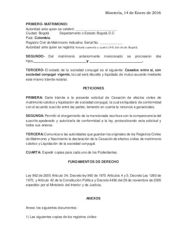 Matrimonio Catolico Divorcio : El matrimonio catolico tiene efectos civiles en colombia