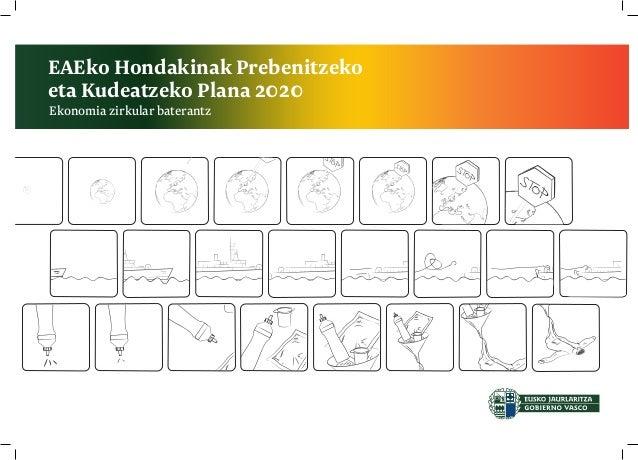 EAEko Hondakinak Prebenitzeko eta Kudeatzeko Plana 2020 Ekonomia zirkular baterantz