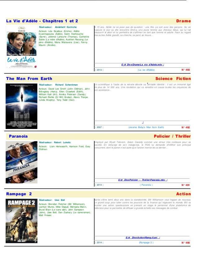 La Vie d'Adèle - Chapitres 1 et 2  Acteurs: Léa Seydoux (Emma), Adèle  Exarchopoulos (Adèle), Salim Kechiouche  (Samir), J...
