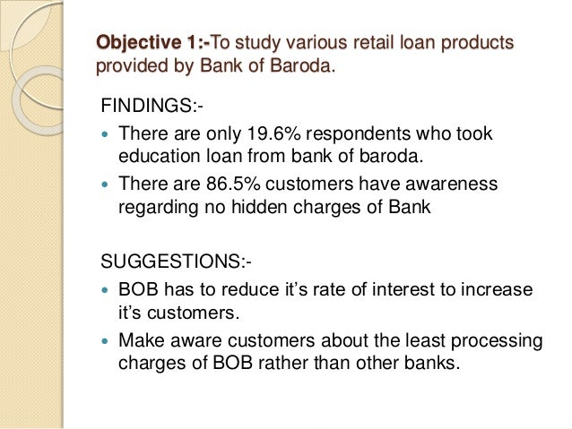 CONTD.. FINDINGS:-  There are 40.4% customers who feel good about the rate of interest of Bank of baroda with Peer banks....
