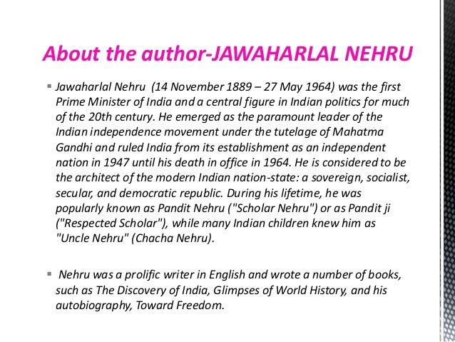 jawaharlal nehru few lines