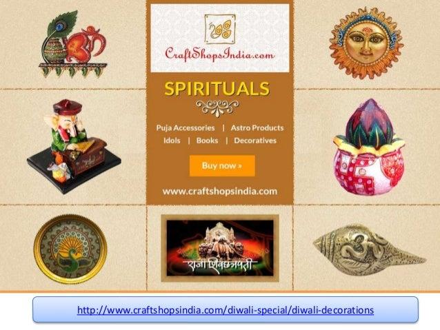 Diwali Diyas Online Shopping India: Diwali Deocration Online Shopping India From Craft Shops India