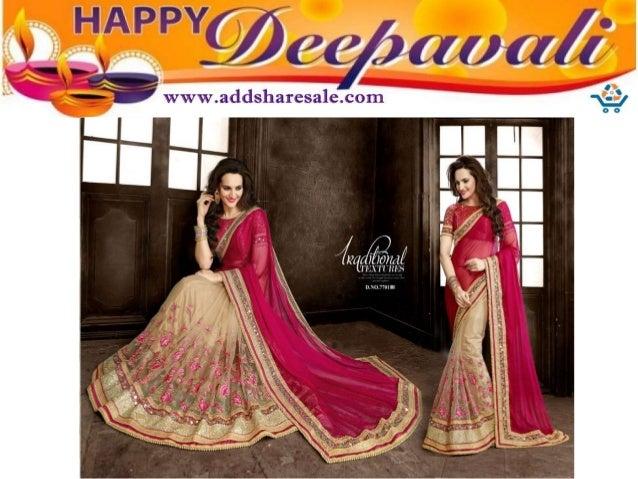 9f237795bac2 Diwali festival salwar kameez and saree women clothing collection 20…