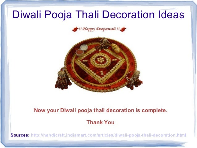 Diwali pooja thali decoration ideas for Aarti thali decoration ideas