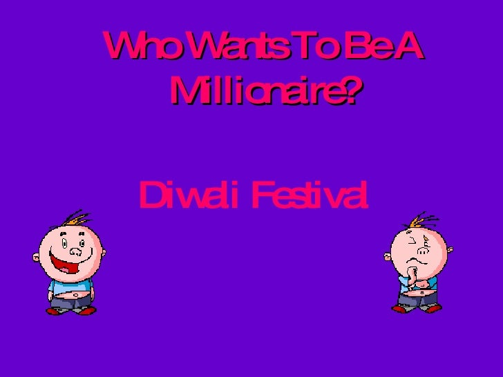 Who Wants To Be A Millionaire? Diwali Festival