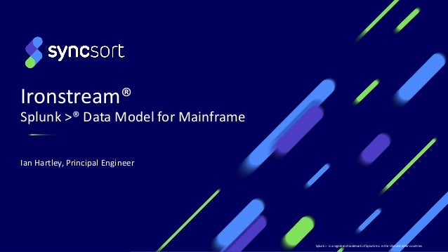 Data Model for Mainframe in Splunk: The Newest Feature of