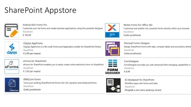 InfoPath alternatives and the potential of PowerApps
