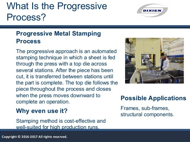 What Is Progressive Stamping