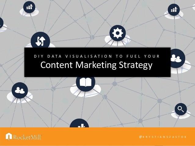 Content Marketing Strategy D I Y D A T A V I S U A L I S A T I O N T O F U E L Y O U R @ K R Y S T I A N S Z A S T O K