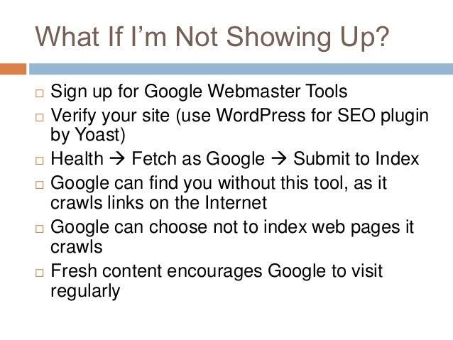DIY SEO: WordPress Austin Meetup slideshare - 웹