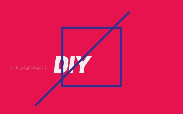 DIY site wordpress