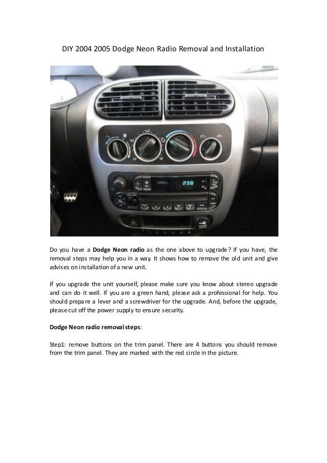 Diy 2000 ford escort radio replacement