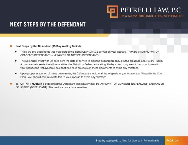 Do it yourself divorce 27 step by step guide to filing for divorce in pennsylvania solutioingenieria Gallery