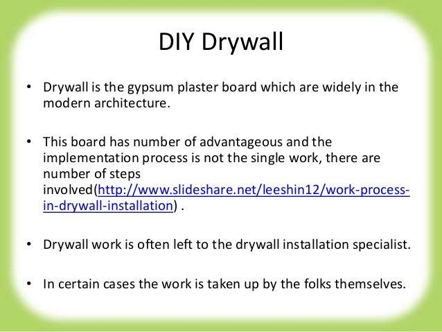 Diy drywall repair tips Slide 2