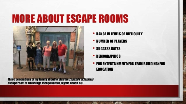 Diy Escape Rooms Amp Immersive Experiences In The Library