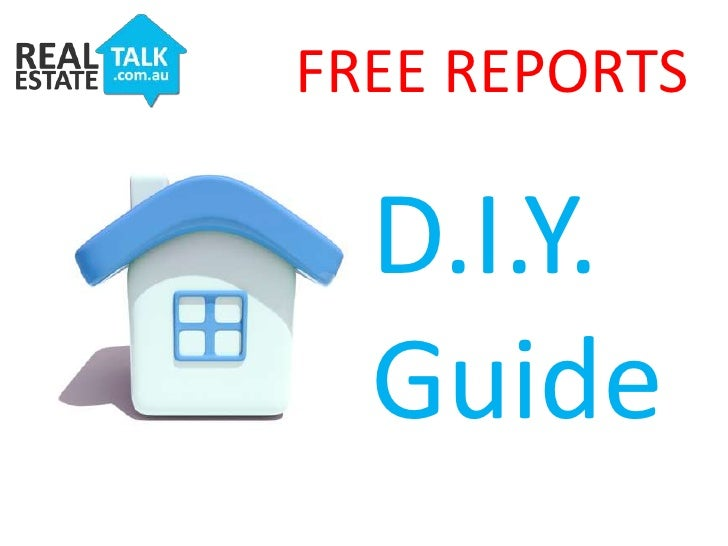 FREE REPORTS<br />D.I.Y.<br />Guide<br />