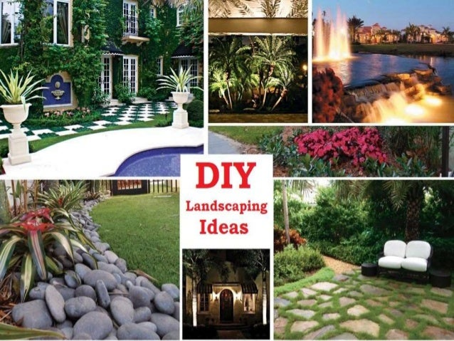 Diy Landscaping Design Ideas Landscape Garden Plans In Your Budget