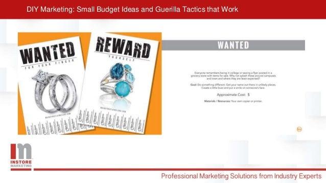Diy marketing presentation Slide 2