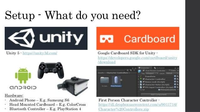 DIY Mobile VR with Unity 3d & Cardboard SDK