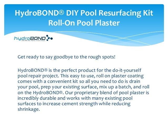 Diy Pool Resurfacing Product