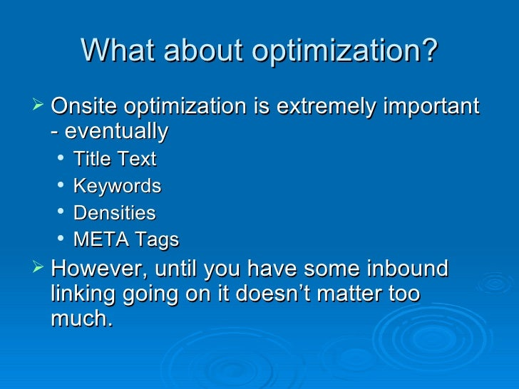 Do-It-Yourself Search Engine Optimization - ezinearticles.com