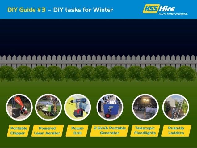 DIY Tasks for the Winter