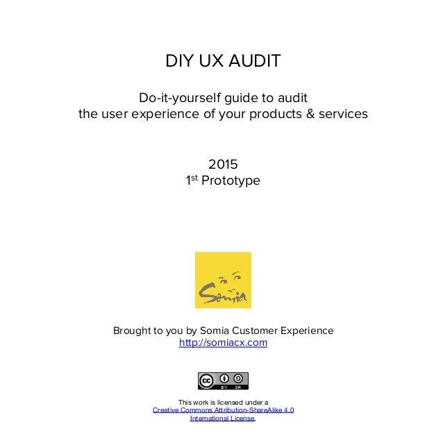 DIY UX Audit Slide 2