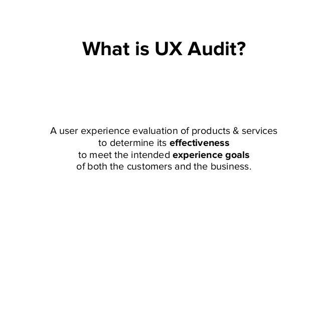 DIY UX Audit Slide 3