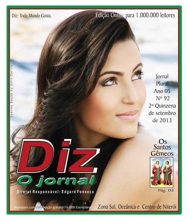 Niterói 28/09 a 12/10/13 www.dizjornal.com