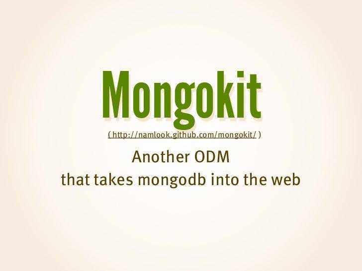 how to connect mongodb with django
