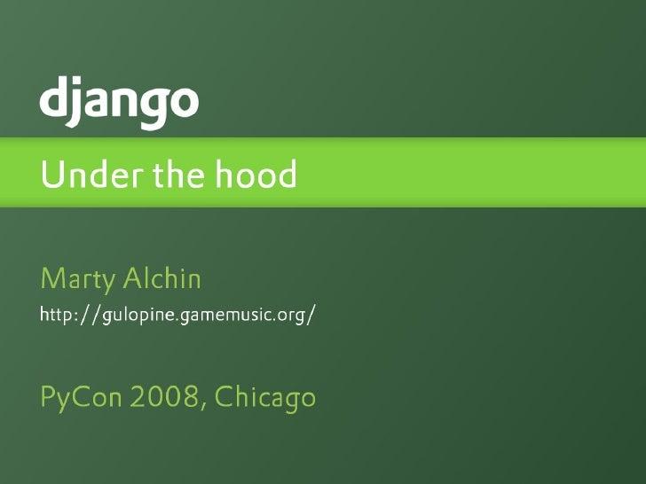 Django: Under The Hood