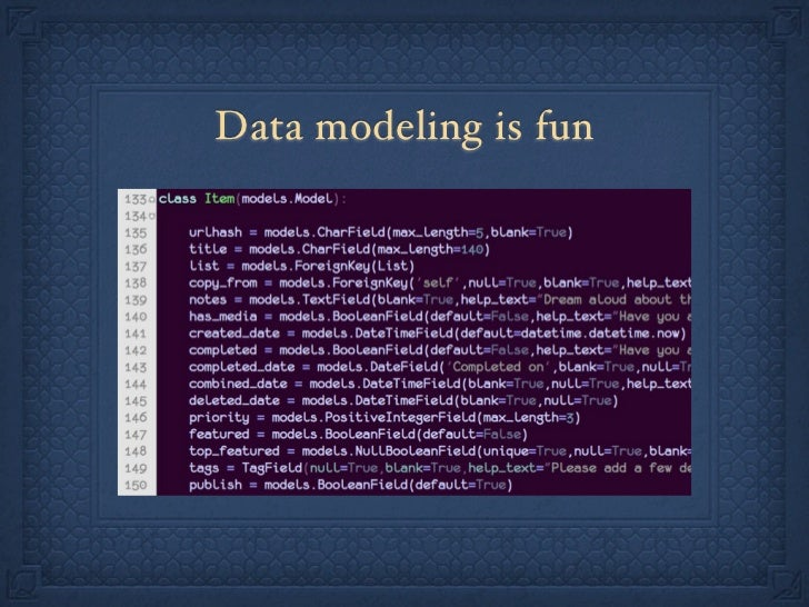 Scot Hacker: Building a Killer Bucketlist Site with Python/Django