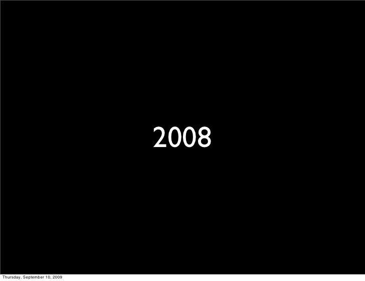 2008    Thursday, September 10, 2009