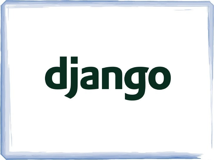 URL's Configuration  ●   Django encourages you to design meaningful     URL's for your application pages & API ●   To do t...