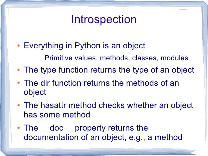 Data Structures  ●   There are 4 main types:        –   Lists: ordered collection of variables, of any              type  ...
