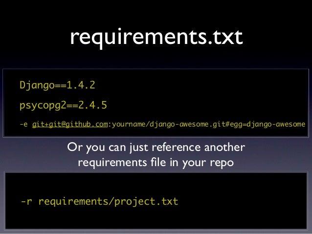 Database overrides