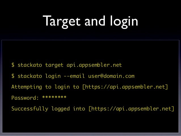 Initial push$ stackato pushWould you like to deploy from the current directory ? [Yn]:Would you like to use paasbakeoff as...