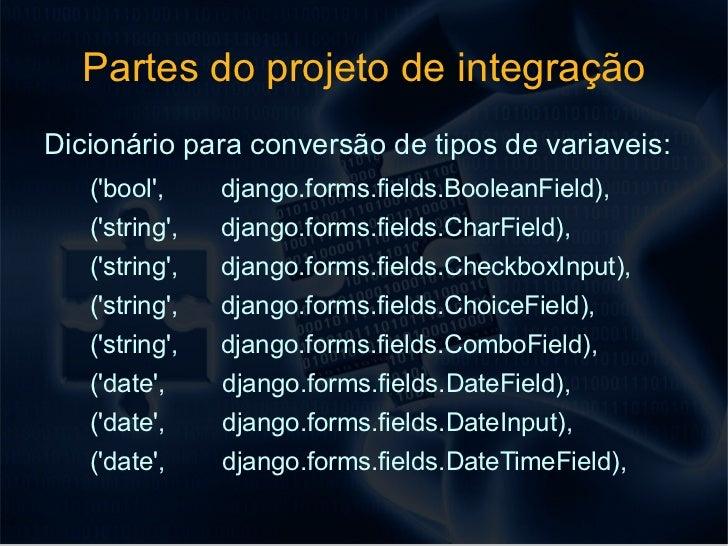 Django + extjs pelos forms